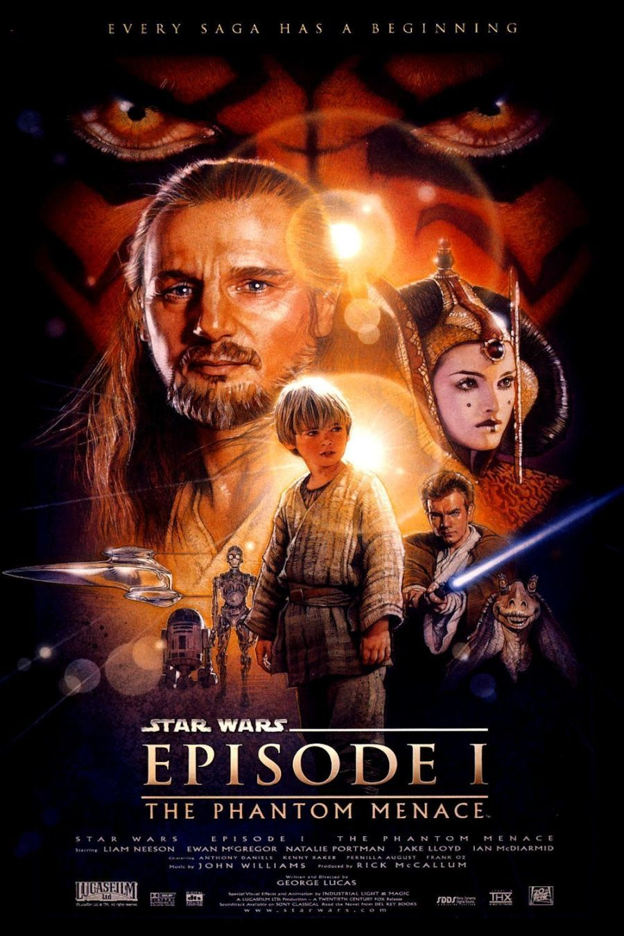 Episode I The Phantom Menace poster