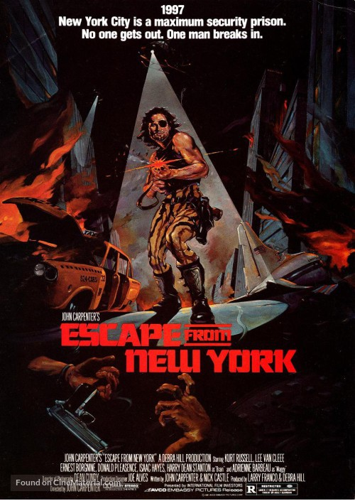 escape from new york poster