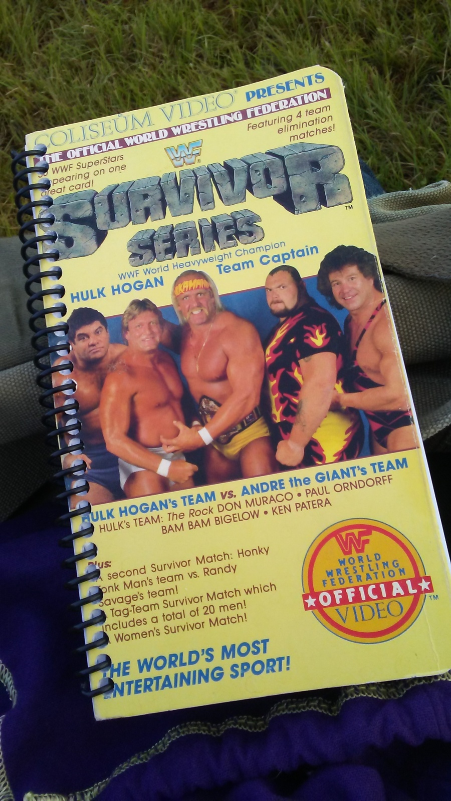 VHS Sketchbooks WWF