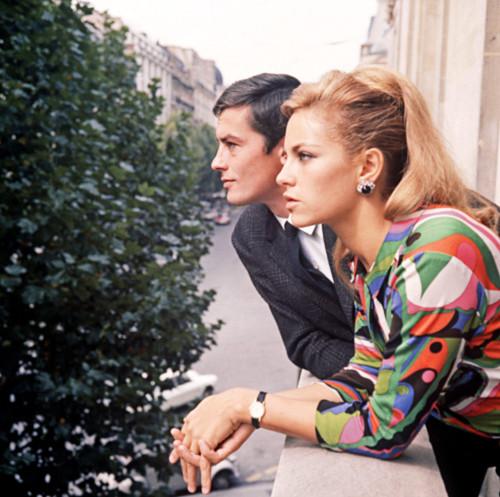 French movie legend Alain Delon